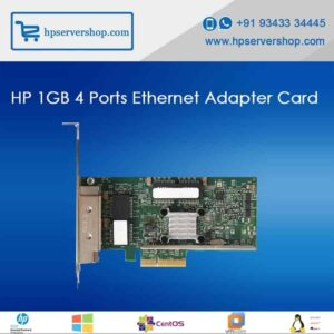 HP 1GB 4 Port Ethernet Adopter Card